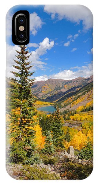 Fall Colors At Maroon Lake 2 Phone Case by Steve Anderson