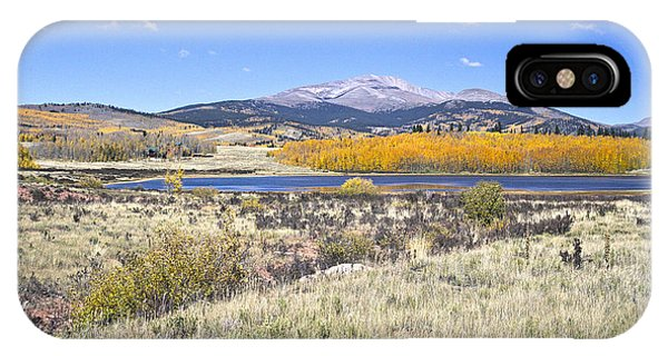 Fall Colors Fairplay Colorado IPhone Case