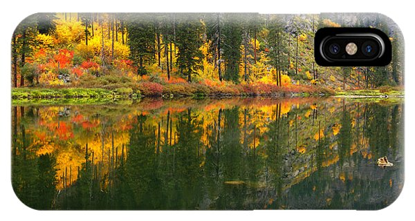 Fall Colors - Tumwater Canyon IPhone Case