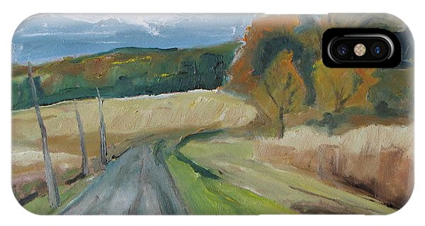 Fall Country Road  Phone Case by Francois Fournier