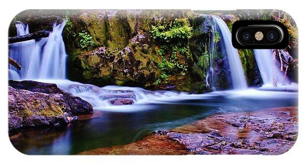 Fall Creek Oregon 3 IPhone Case
