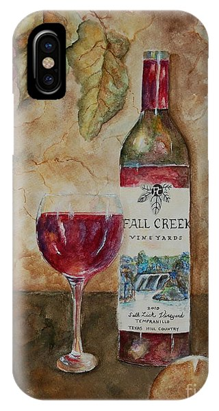 Fall Creek Vineyards IPhone Case
