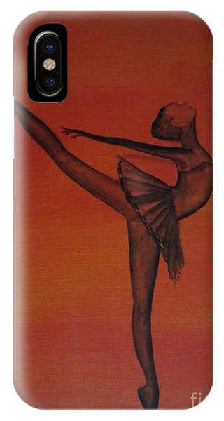 Fall Dancer 1 IPhone Case