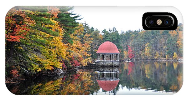 Coggshall Park, Fitchburg Ma IPhone Case
