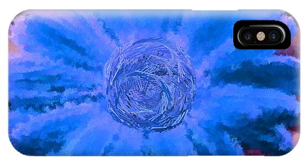 Fall For Me Purple Blue Phone Case by Holley Jacobs