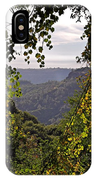 Fall Frames The Canyon IPhone Case