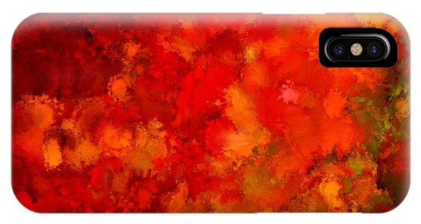 Fall Frolic IPhone Case