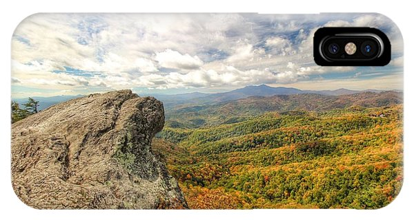 Fall From The Blowing Rock IPhone Case