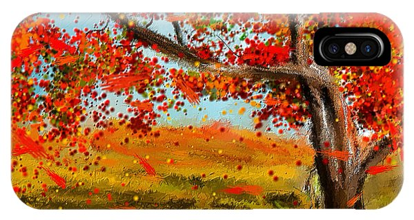 Fall Impressions IPhone Case
