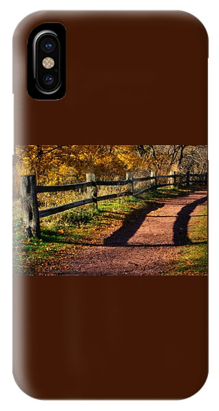 Fall In Chicago IPhone Case
