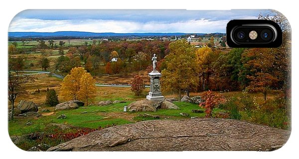 Fall In Gettysburg IPhone Case