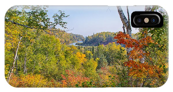 Fall In Gooseberry State Park IPhone Case