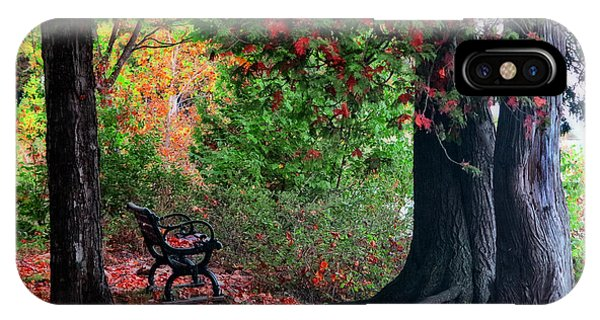 Fall In Henes Park IPhone Case