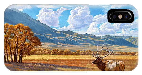 Yellowstone iPhone Case - Fall In Paradise Valley by Paul Krapf