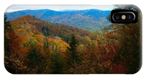 Fall In The Blue Ridge Mountains IPhone Case