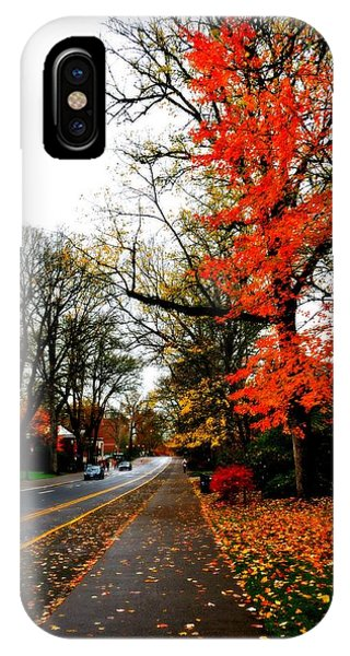 Fall In The Northwest IPhone Case