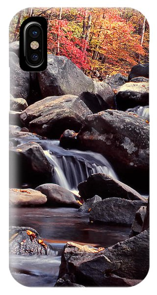Fall In The Smoky Mountains IPhone Case
