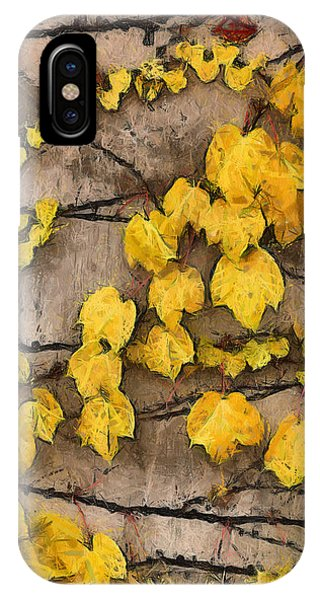 Fall Leaves II IPhone Case
