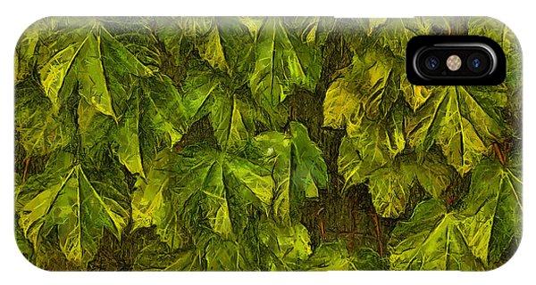 Fall Leaves IIi IPhone Case