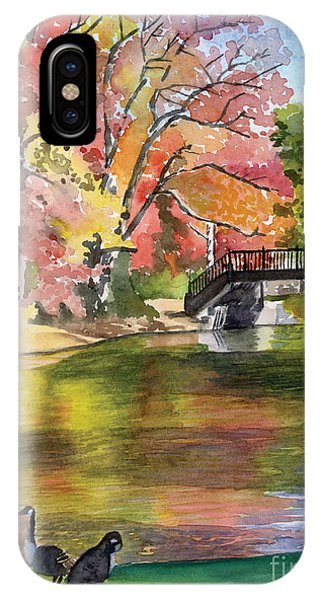 Fall Light - Roger Williams Park Phone Case by Hollis Machala