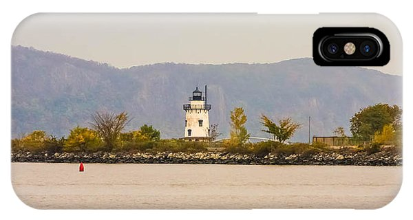 Fall Lighthouse IPhone Case