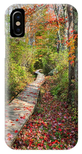 The Nature Center iPhone Case - Fall Morning by Bill Wakeley