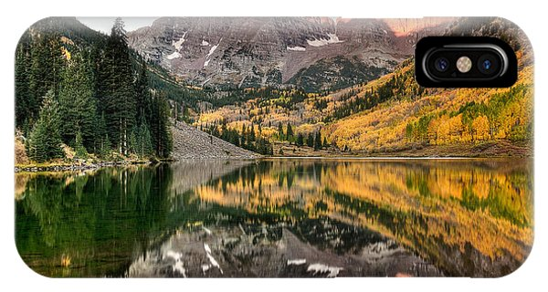 Bell iPhone Case - Fall N Reflections by Ryan Smith