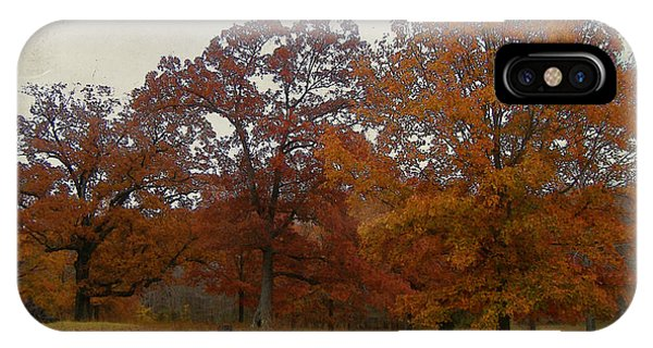 Fall On Antioch Road IPhone Case