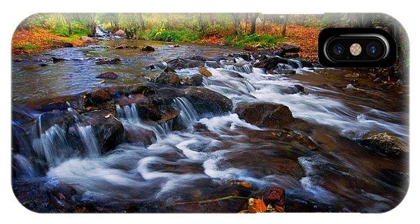 Fall On Fountain Creek IPhone Case