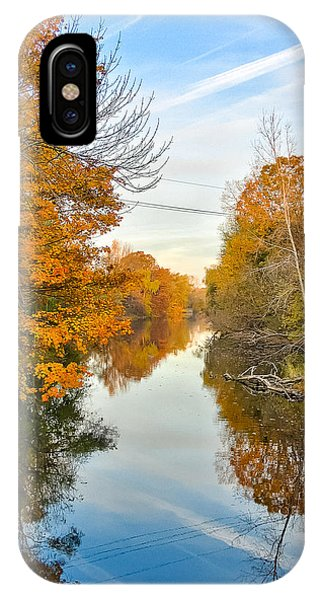 Fall On The Red Cedar  IPhone Case