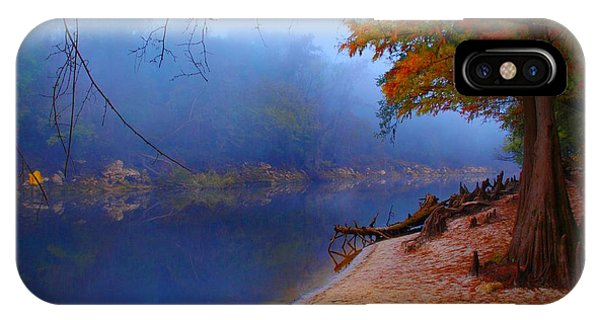 Fall On The Suwannee River IPhone Case