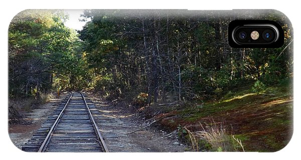 Fall Railroad Track To Somewhere IPhone Case