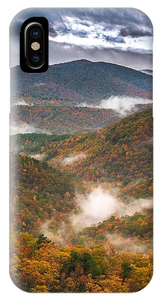 Fall Ridges IPhone Case