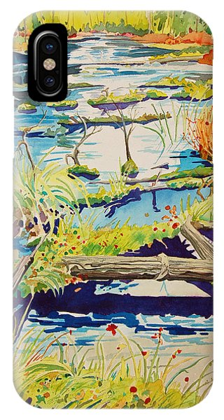 Fall River Scene IPhone Case