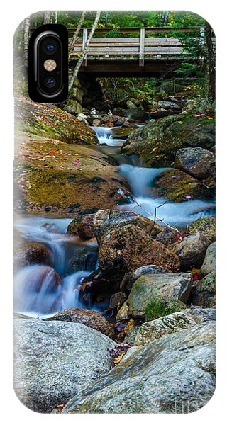 Fall Scene In Nh IPhone Case