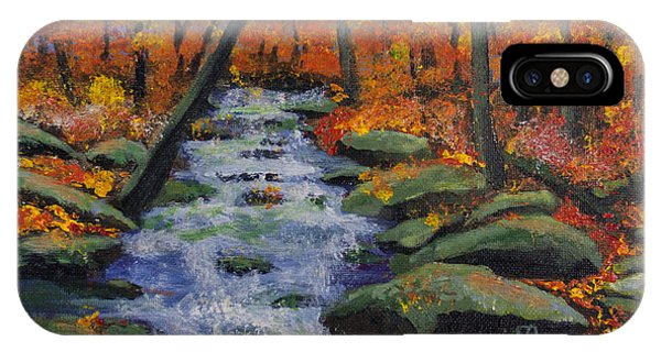 Fall Stream IPhone Case