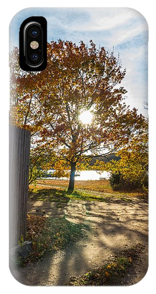 Fall Through The Gate IPhone Case