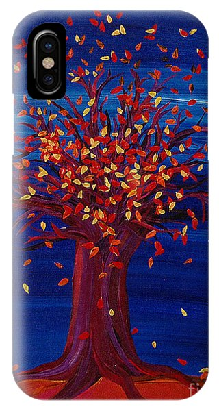 Fall Tree Fantasy By Jrr IPhone Case