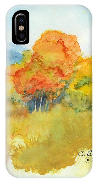 Fall Trees 2 IPhone Case