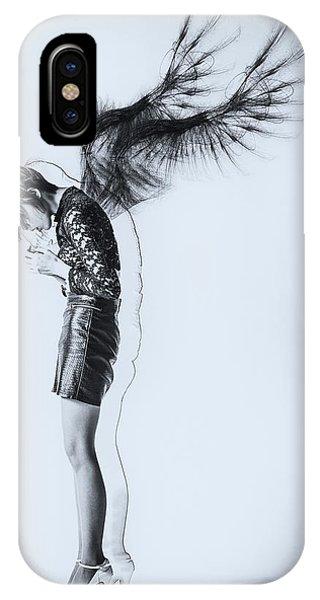Sketch iPhone Case - Fallen Angel by Daisuke Kiyota