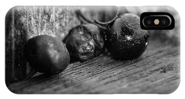 Fallen Berries IPhone Case