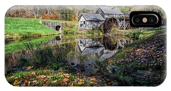 Fallen Leaves At Mabry Mill IPhone Case