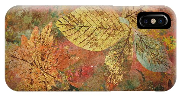 Fallen Leaves II IPhone Case