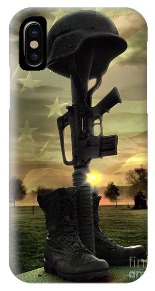 Fallen Soldiers Memorial IPhone Case