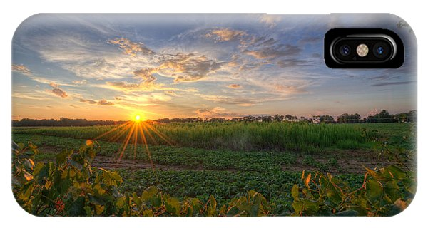 Michael iPhone Case - Falling Below The Horizon  by Michael Ver Sprill
