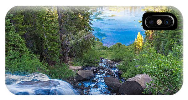 Falling Down To The Lakes IPhone Case