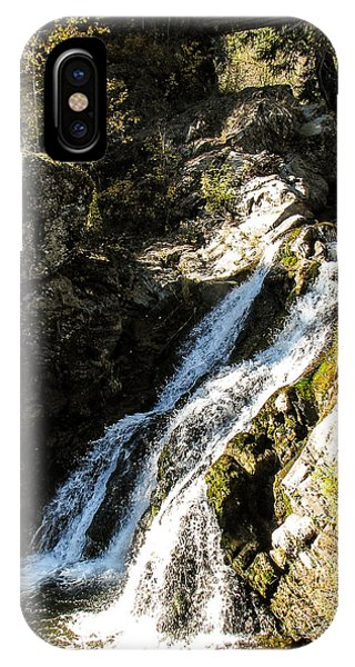 Falling Water Phone Case by Curtis Stein
