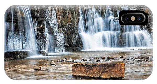 Falls At Natural Dam IPhone Case