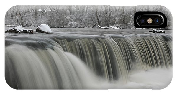 Falls In Winter IPhone Case