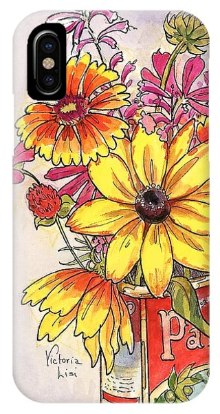 Fall's Last Bouquet IPhone Case